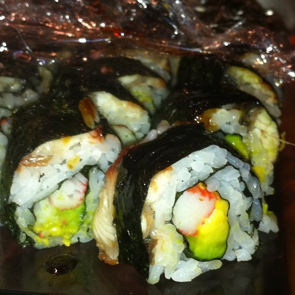 Eel Avocado Roll @ Heebeen Restaurant