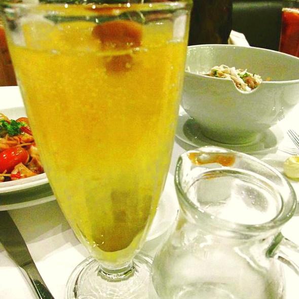 Chinese Plum   Sprite Float @ Greyhound Cafe - Central Chidlom