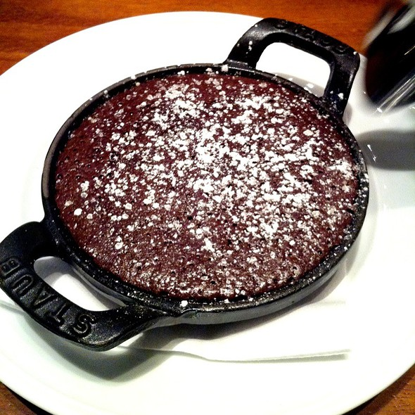 flourless chocolate cake @ Wall & Water