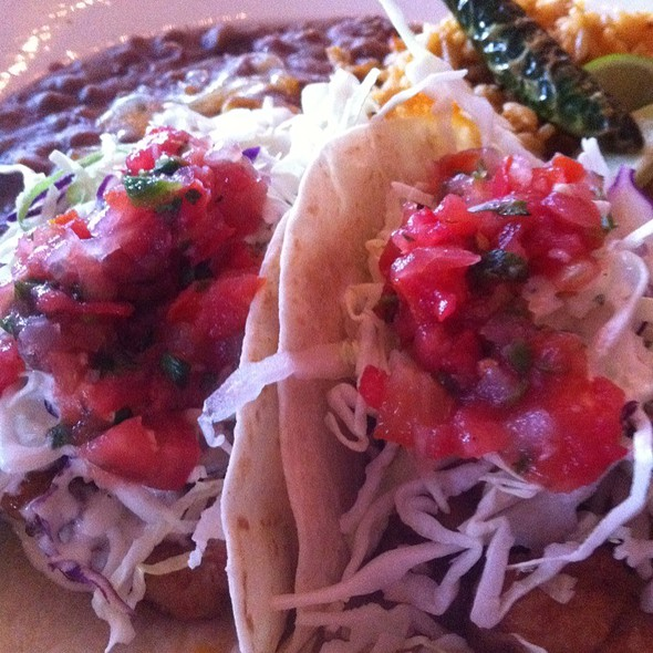 Lobster Tacos With Extra Lobster Meat - World Famous, San Diego, CA