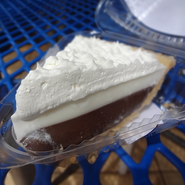 Chocolate Haupia Cream Pie @ Ted's Bakery