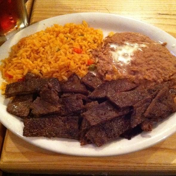 Carne, Beans & Rice @ Soccer Taco