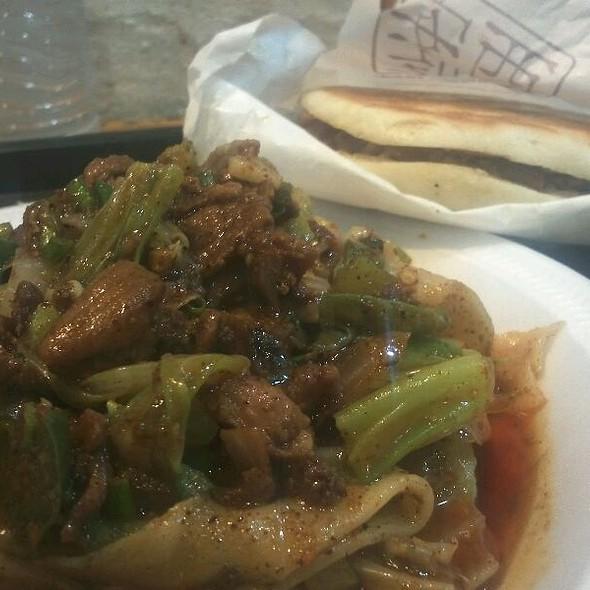 Spicy Cumin Lamb Noodles @ Xi'an Famous Foods