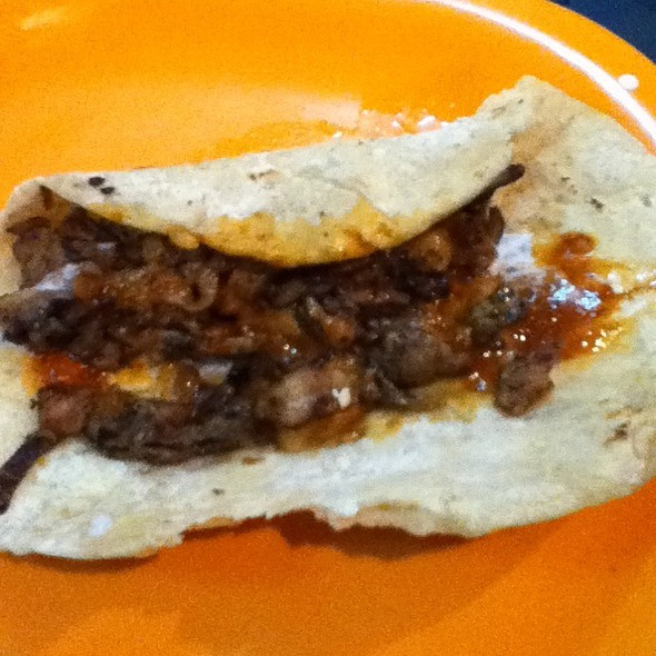 Arab Tacos  ( Pita Bread ) @ El Arabe