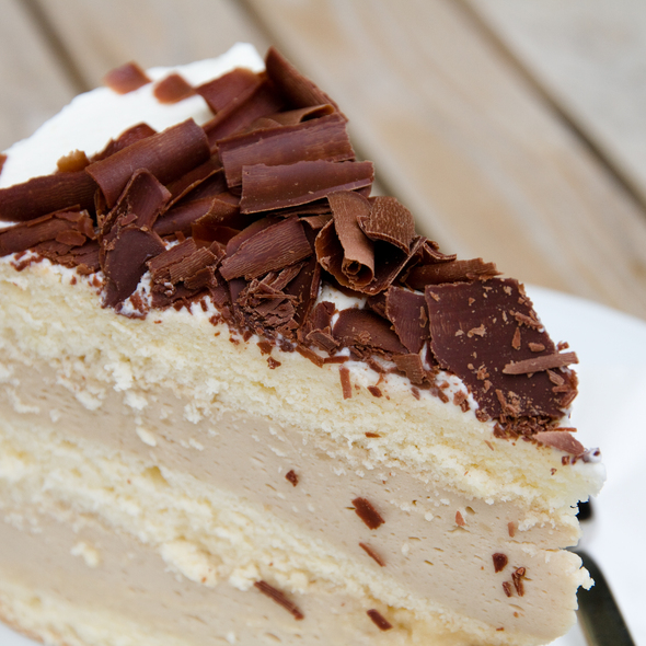 Cappuccino Mousse Cake @ NO FIRE NO GLORY · Espresso Bar