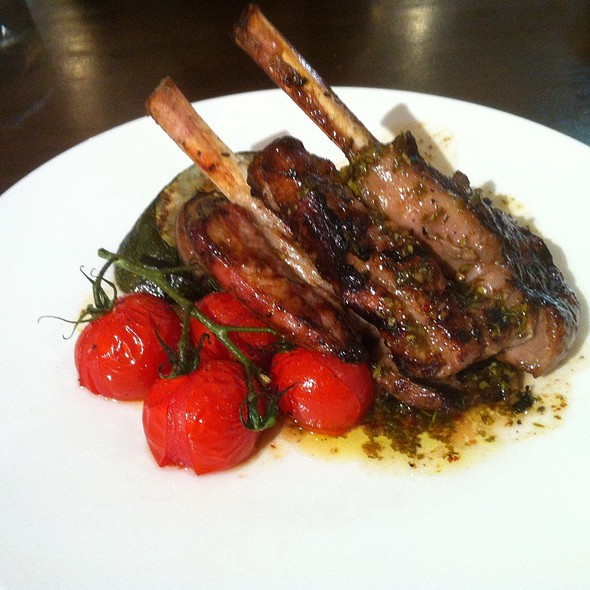 Chargrilled Lamb Cutlet @ Jones The Grocer Dempsey Hill Pte. Ltd.