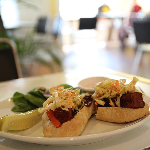 BBQ Tofu Sandwich  @ The Owlery Restaurant