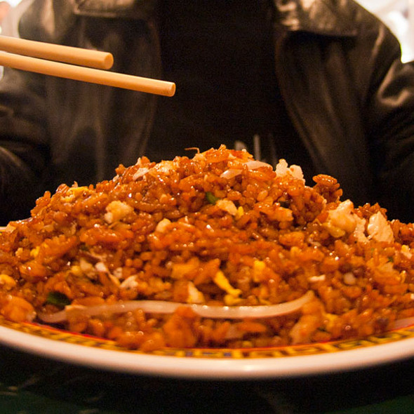 Chicken Fried Rice @ China Town Express