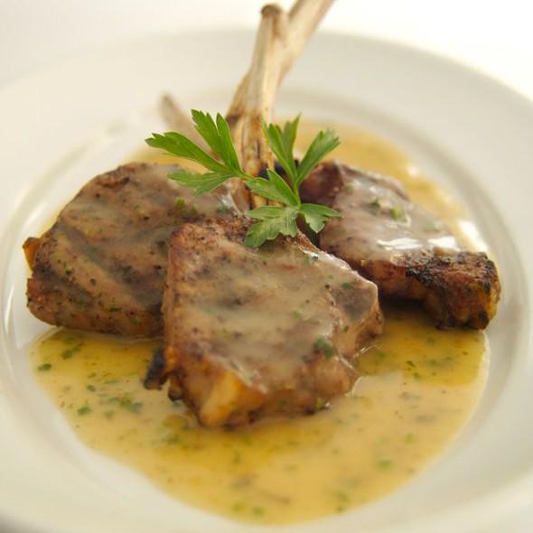 Lamb Chops Oreganato @ The Rosebud