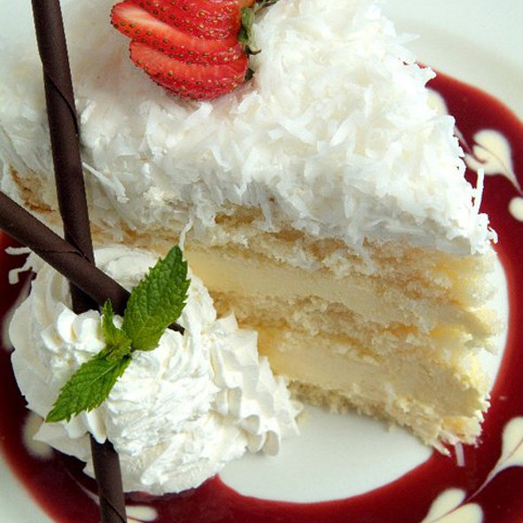 Coconut Cake @ The Rosebud