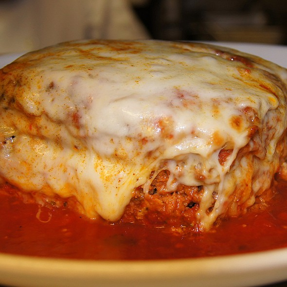 Meat Lasagna @ Carmine's Clamhouse