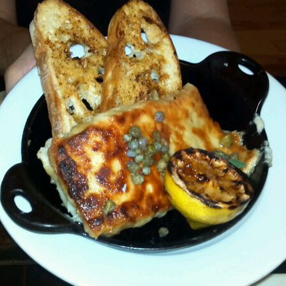 Greek Saganaki @ Kouzzina by Cat Cora