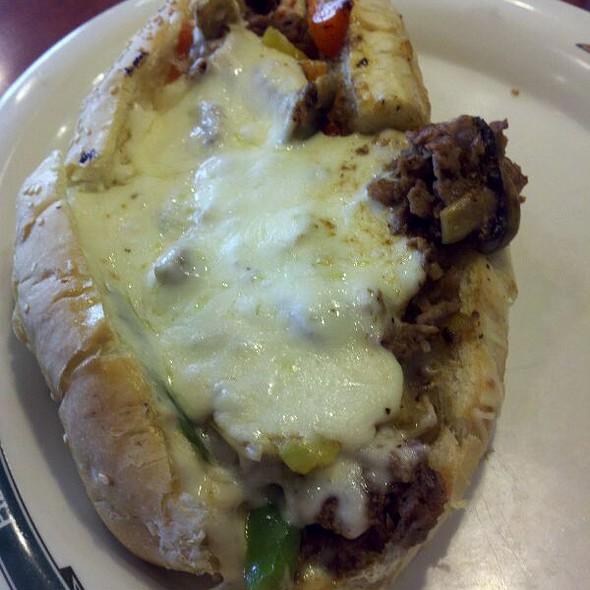 Deluxe Philly Cheesesteak @ Pizza Papalis of Toledo