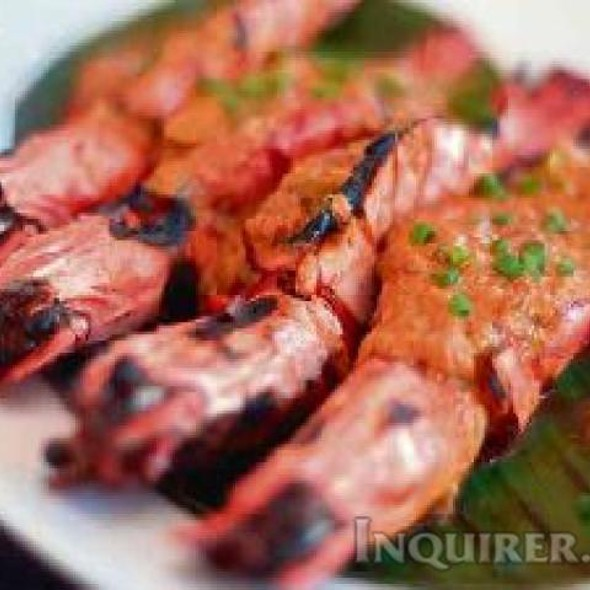 Prawns Coco Crab Fat @ PigOut- Your Family Grill House