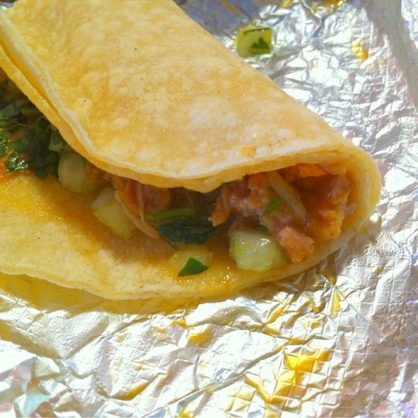 Cantina Taco (carnitas) @ Taco Bell