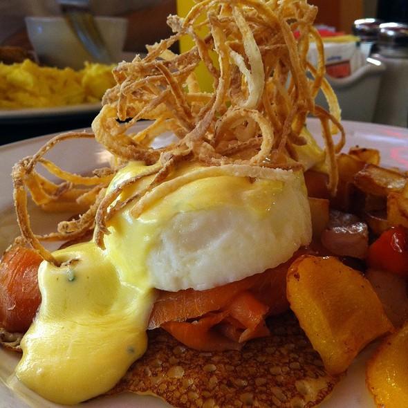 Smoked Salmon Eggs Benedict - Corner Cafe - Priority Seating, Atlanta, GA