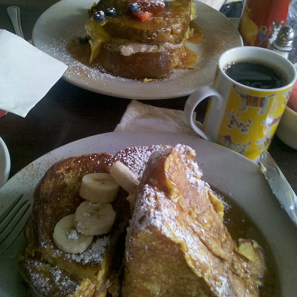 Stuffed Callah French Toast