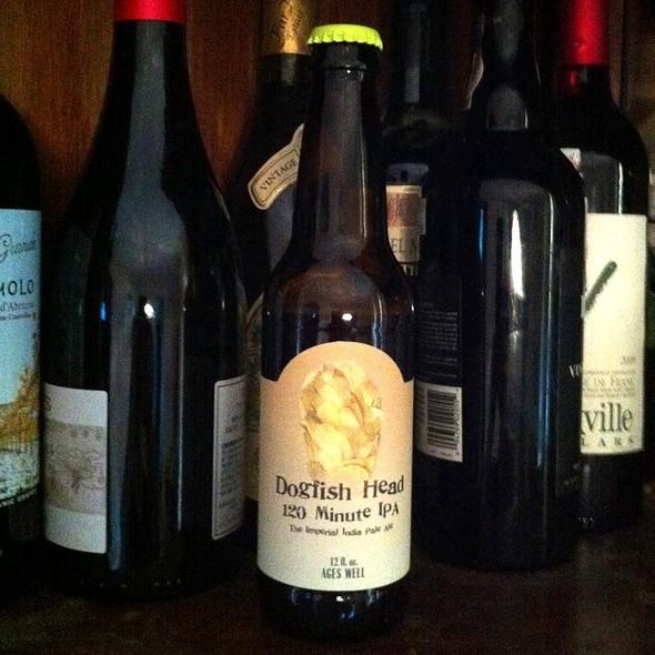 Dogfish Head 120 Minute IPA @ UNWINED Gourmet Wine Cigars