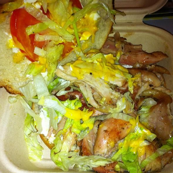Pollo alla brasa @ Sanguchon Food Truck
