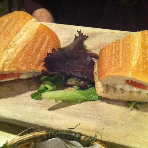 Caprese Sandwich @ Epistrophy Cafe