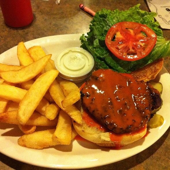 Buffalo Bleu Burger @ Lindburgers Inc