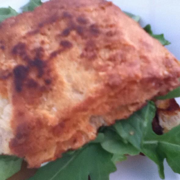 Egg, Cheddar and Bacon Breakfast Sandwich @ Nicks Wheely Good Breakfast