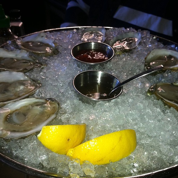 raw oysters @ Island Creek Oyster Bar