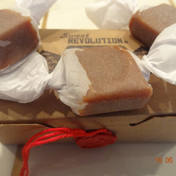 Maple-honey caramels @ Sweet Revolution