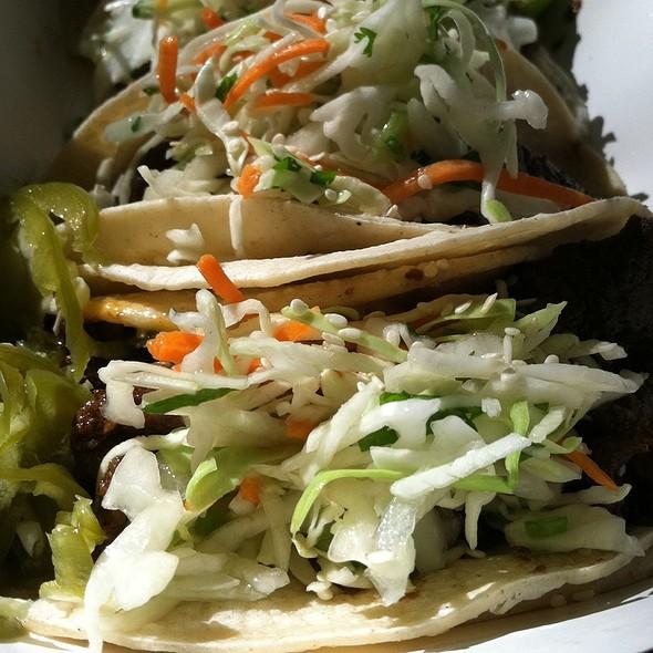 Kalbi Beef Taco