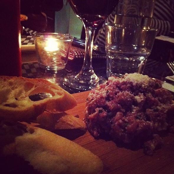 Duck Tartare W/ Italian Seasoning @ Marché 27