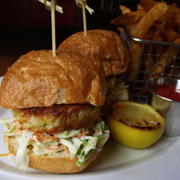 Crab Cake Sandwich @ Benny's Chop House