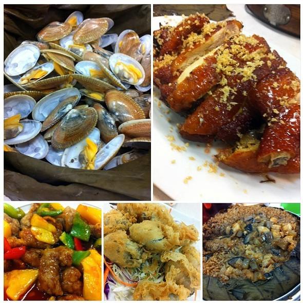 Wind Sand Chicken 風沙雞 @ Tung Po Kitchen 东宝小厨