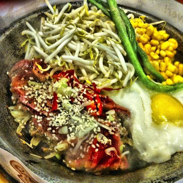 Wagyu Yakiniku Beef Set @ Pepper Lunch