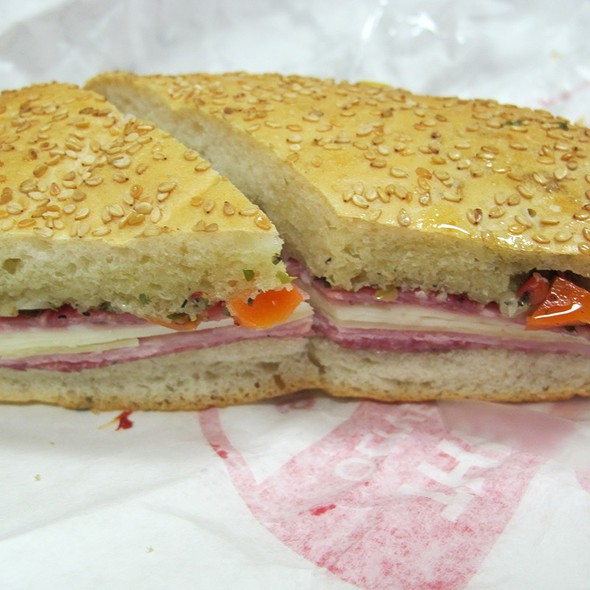 Muffuletta Sandwich @ Central Grocery