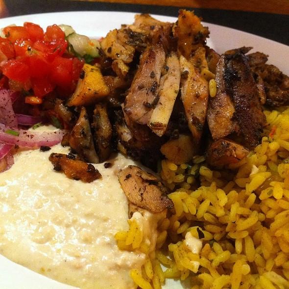 Grilled Chicken Mediterranean Plate @ Roti Mediterranean Grill
