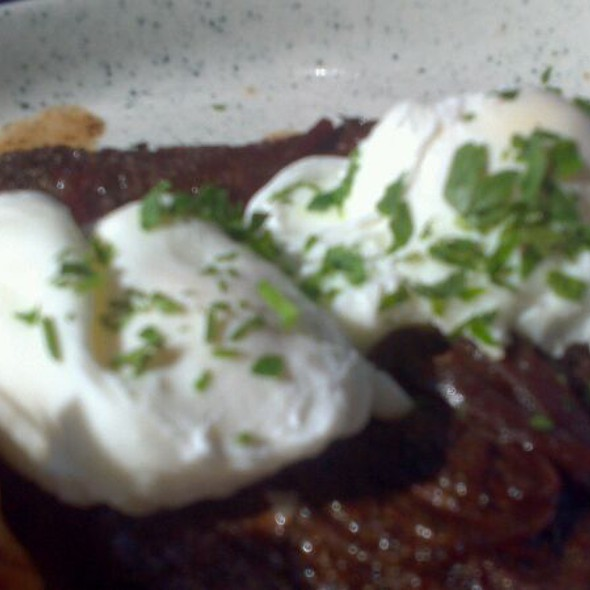 Steak and Eggs - Chez Lucienne, New York, NY
