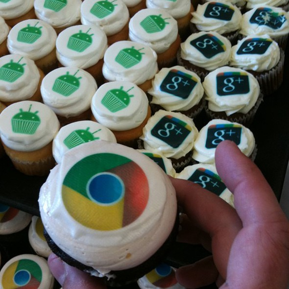 Cupcakes @ Google