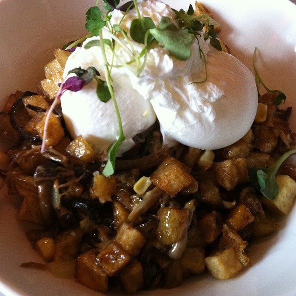 Duck Confit Hash @ Edible British Columbia