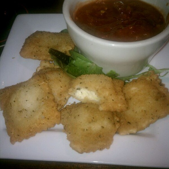 Jalapeno And cheese Fried Ravioli