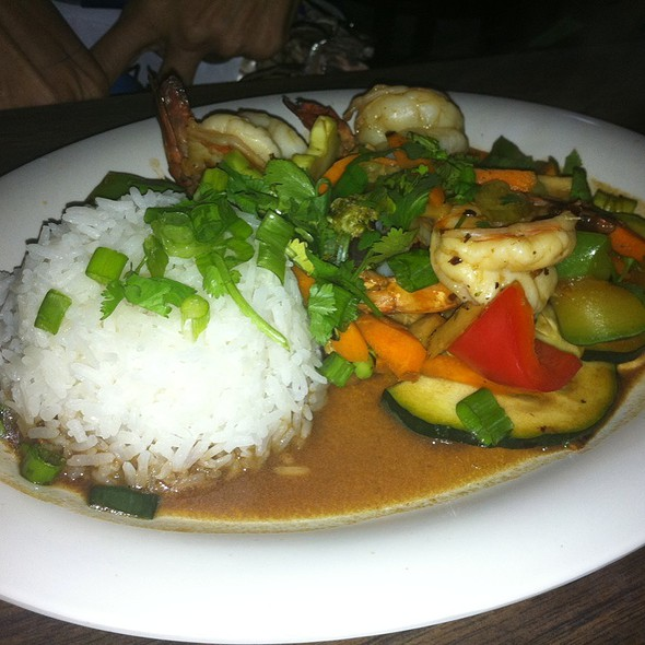 Shrimp Stir Fry @ One Ten Thay