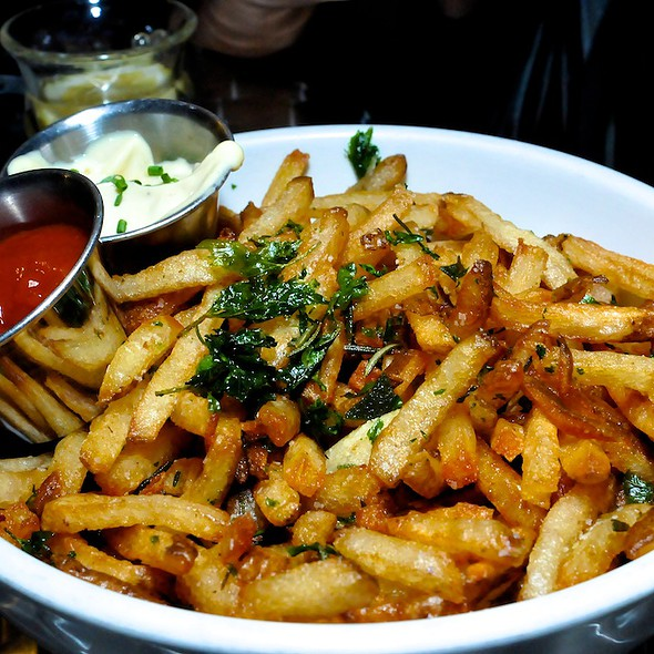 French Fries Fried in Sunflower Oil @ Town