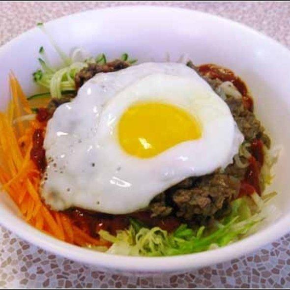 Beef & Bulgogi Bibimbob @ U-City Grill