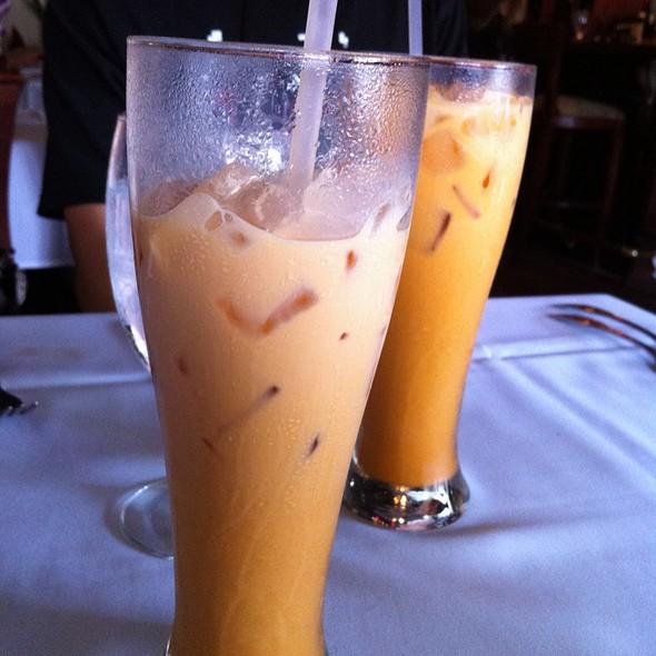 Thai Iced Tea @ Thai Orchid Restaurant