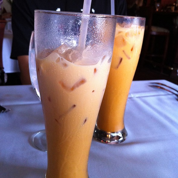 Thai Iced Tea @ Thai Orchid Restaurant