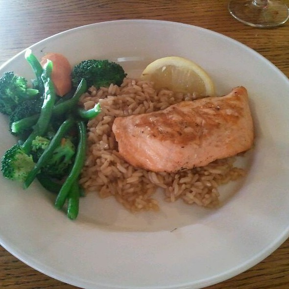 Grilled Salmon - Rocky's of Northville, Northville, MI