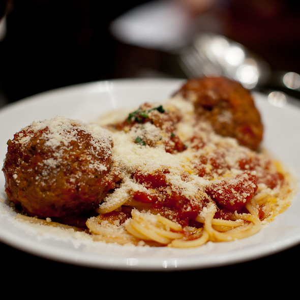 Spaghetti and Meatballs @ Cafe Zoetrope