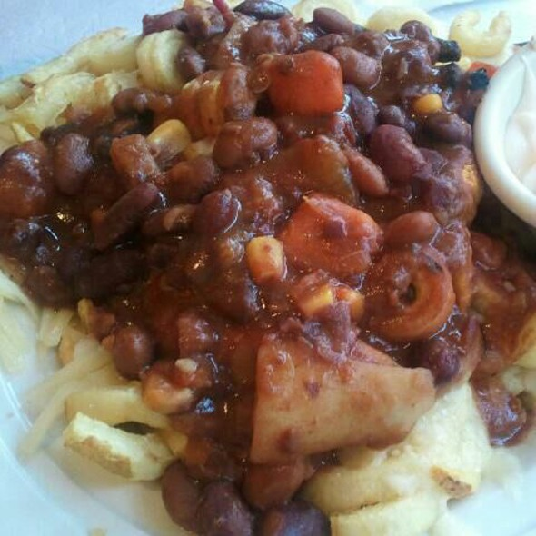 Chili Cheese Fries @ Curly's Lunch