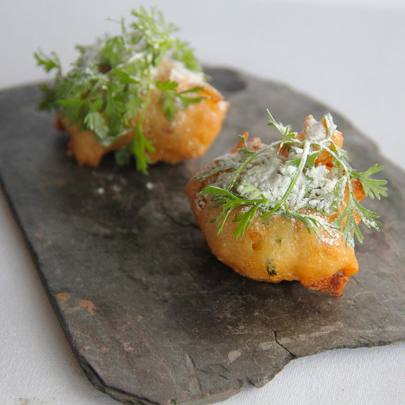 Sweet Onion Beignets - Forage, Salt Lake City, UT
