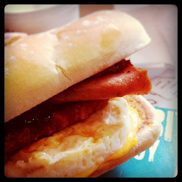 mcd bakehouse brekkie roll  #mcd