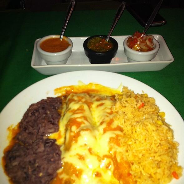 enchiladas @ Tacos & Salsa